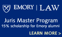 Emory Law - Juris Master Program