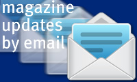 Magazine updates by email